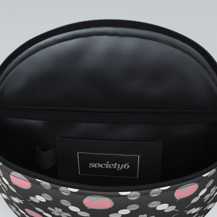 Hanami Nummies | Black Sakura Fanny Pack