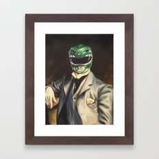 Gentleman Ranger Framed Art Print