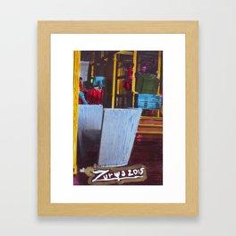 La Villette 1 Framed Art Print