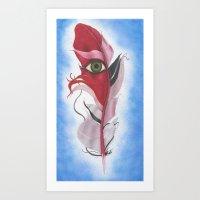 Feather #10 Art Print