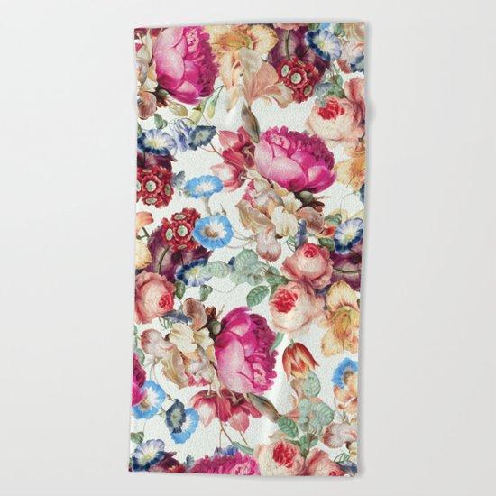 Floral Crush #society6 #decor #buyart Beach Towel
