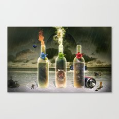 Three Flavors of Fate Canvas Print
