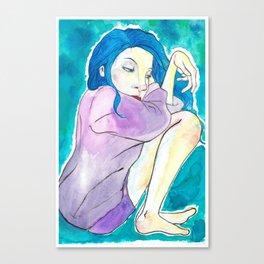 Cozy Blue Canvas Print