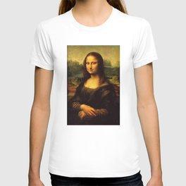 Mona Lisa Painting T-shirt