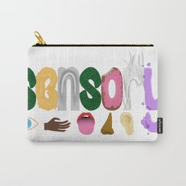 Sensory word & icons Carry-All Pouch