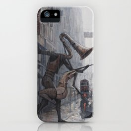 Life is a Dance in The Rain III iPhone Case