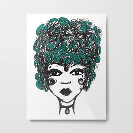 Annabella Metal Print