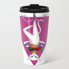 the fool tarot card Metal Travel Mug