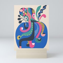 Miss Octopus Mini Art Print