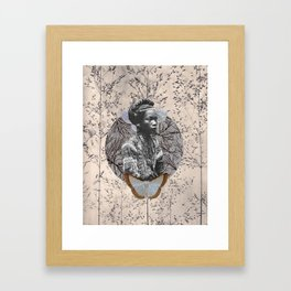 Aurora Brave Framed Art Print