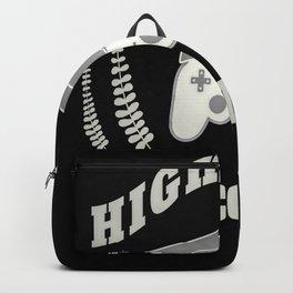High school 2020 Abi graduation music Backpack