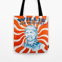 Willie For President Tote Bag
