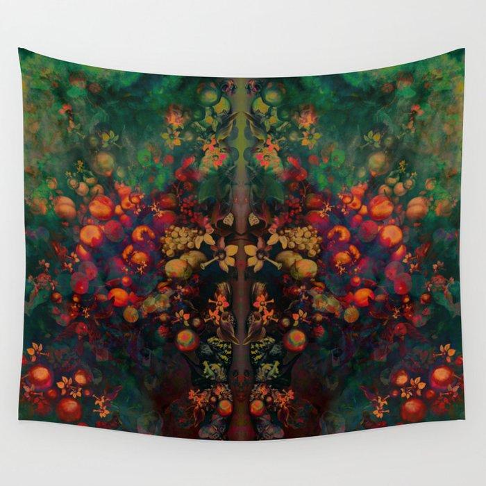 """""""Sci-fi Spring Still Life"""" Wall Tapestry"""