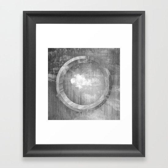 Circle Distortions #3 Framed Art Print