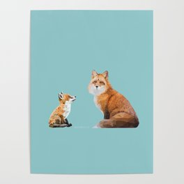 Fox Tenderness Poster