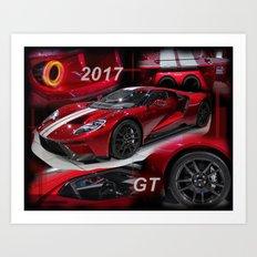 2017 GT Art Print