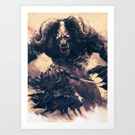 Eternal Opponents  Art Print