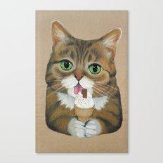 Lil Bub - famous cat Canvas Print