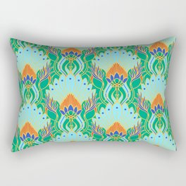 Royal Ornament Pattern Rectangular Pillow