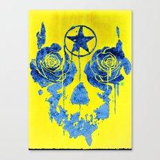 Pentagram / Crying roses  Canvas Print