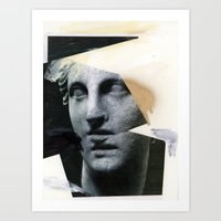 Untitled (Painted Composition 8) Art Print