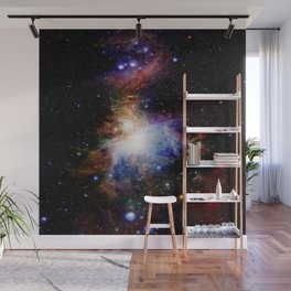 Orion NebulA Colorful Full Image Wall Mural
