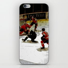 The End Zone - Ice Hockey Game iPhone Skin