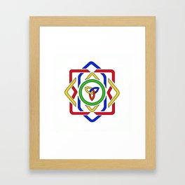 Celtic Trinity Knot Framed Art Print