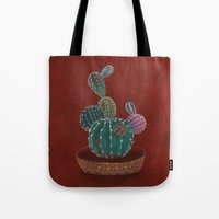 family Tote Bags featuring Family by Min Roh