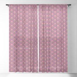 Spring Roses Pattern ~ LOVED UP VAR Sheer Curtain