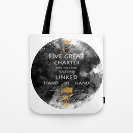 Charter Poem Tote Bag