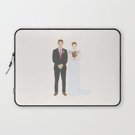 This $75 Custom Portrait Is the Most Thoughtful Wedding Gift Ever Laptop Sleeve