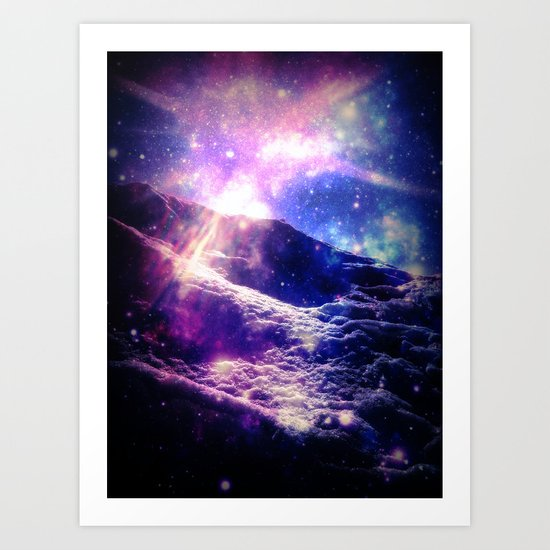 Cosmic Radiance Art Print