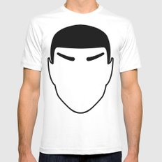 Vulcan MEDIUM Mens Fitted Tee White