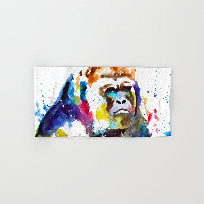 Gorilla Hand & Bath Towel