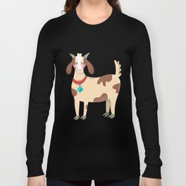 Cute Goat Long Sleeve T-shirt