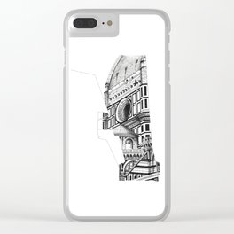 Cattedrale di Santa Maria del Fiore - Firenze Clear iPhone Case