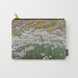 PEARLY EVERLASTING IN AN ALPINE MEADOW Carry-All Pouch