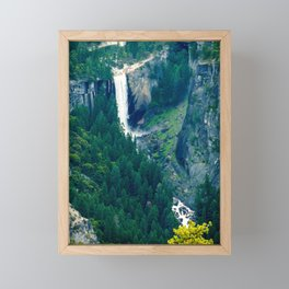 Vernal Fall, Yosemite National Park Framed Mini Art Print