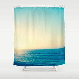 Blue Romance Shower Curtain