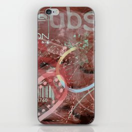 Serial love iPhone Skin