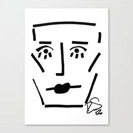 Faire Visage No 41 Canvas Print