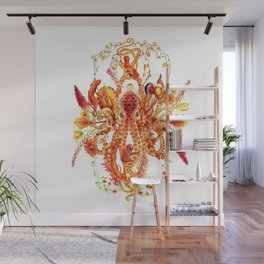 Tangerine Wall Mural