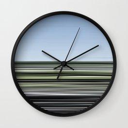 Vitesse immobile 02 Wall Clock