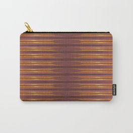 Gold lines Carry-All Pouch