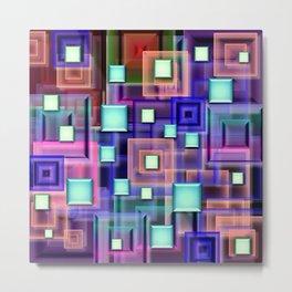 Color corners  Metal Print