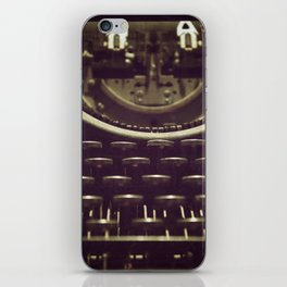 Typeset iPhone Skin