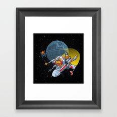 Porkins! (version 43.25) Framed Art Print