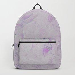 Vintage blush lavender elegant marble Backpack