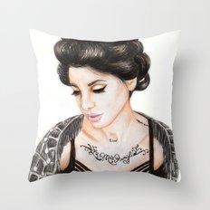 Christina Perri Throw Pillow